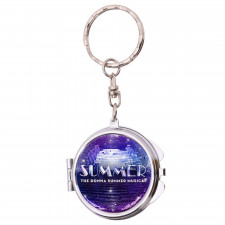 Compact Mirror Keychain